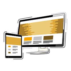Various website Designs offered by RHEST creative studio